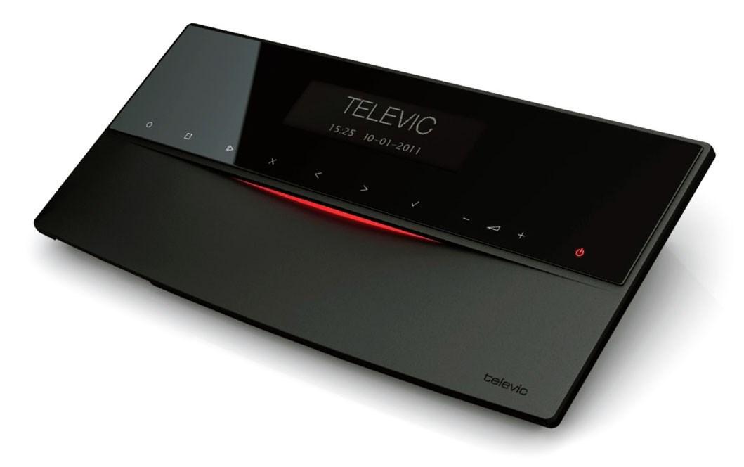 Televic D-Cerno - منبع تغذیه سیستم کنفرانس دیجیتال لمسی تلویک با قابلیت اتو ترکینگ